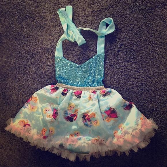 Belle Threads Frozen Romper dress
